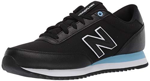 New Balance Herren 501, Schwarz Weiß, 42 EU