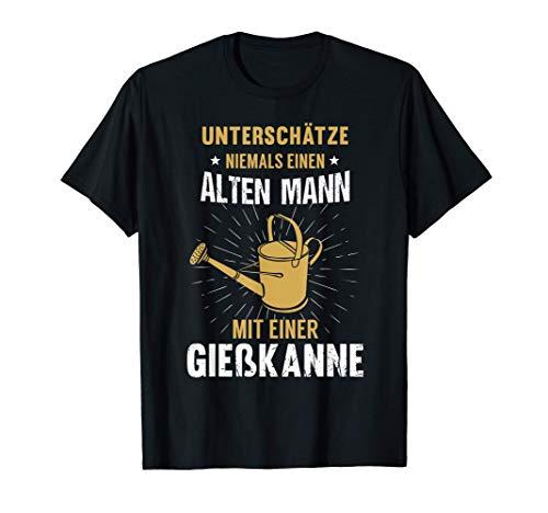 Herren Papa Opa Gärtner Spruch Lustig Vatertag Geburtstag Geschenk T-Shirt