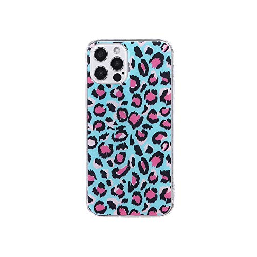 Fashion Leopard Print Sexy Phone Case For iPhone 12 11 Pro Max XR XS Max X 8 7 6S Plus Soft Transparent Back Cover Coque Funda-6-For iPhone XR