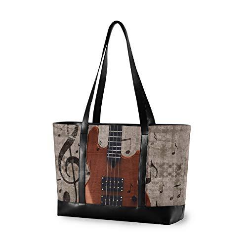 Musikinstrument mit großer Kapazität E-Gitarre Travel Casual Computer Fashion Handtasche Einkaufstasche