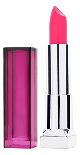 Maybelline New York Make-Up Lippenstift Color Sensational Lipstick Crazy Pink / Knalliges Rosa mit...