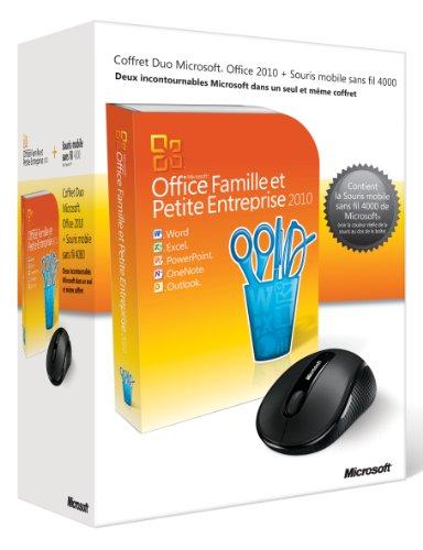 Office famille et petite entreprise 2010 + souris