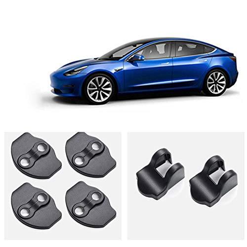 hook.s Türschlossriegel Schutzabdeckungen, rostfreie Türstopperabdeckungen, Türstopper-Schutzabdeckung für Tesla Modell 3