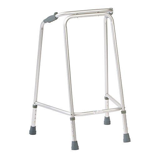 NRS Walking Frame N81736 Adjustable Height  -  Medium (Eligible for VAT relief in the UK)