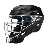 EASTON GAMETIME Baseball Catchers Helmet   Large   Black   2020  High Impact Resistant ABS Shell   Shock...