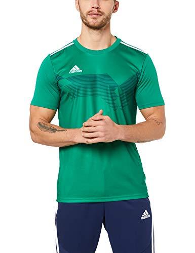 adidas Campeon 19, Maglia Unisex Bambini, Verde (Bold Green/White), 140 (9-10 anni)