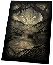 Ultimate Guard Magic The Gathering Sleeves Lands Edition Card Game (80 Pack), Swamp, One Size