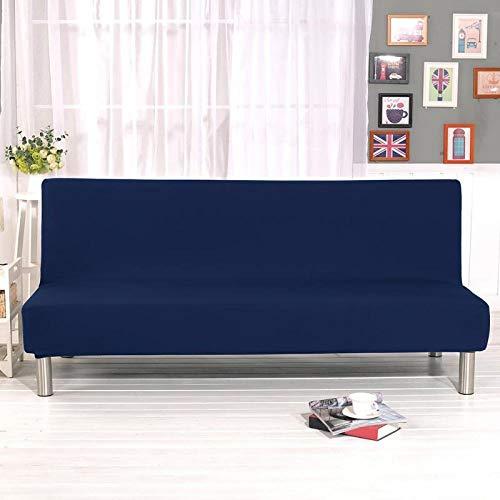 rostsp Funda Sofa Chaise Long Funda De Sofá Cama Plegable con Todo Incluido Toalla De Envoltura Ajustada Sin Reposabrazos para La Sala De Estar Decoración del Hogar (Excluido El Sofá)-2