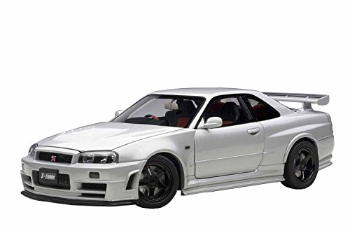 AUTOart 1/18 ニスモ R34 GT-R Z-tune (Z-tune シルバー) 完成品
