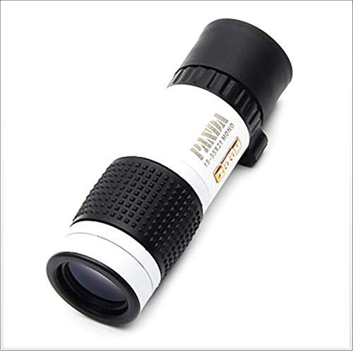 JJK 15 X 22 mm monoculaire de Vision Nocturne Haute définition/générique/Housse de Transport BAK4 83m-1000m Chasse Observation d'oiseaux Usage général Jumelles Zoom Normal dimlight Blanc