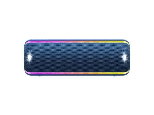 Sony SRS-XB32 Extra Bass Portable Bluetooth Speaker, Blue (SRSXB32/L) (Renewed)
