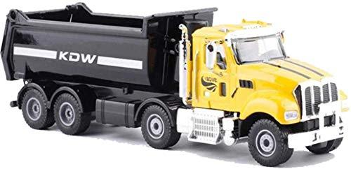 FFCVTDXIA Coche de Juguete 1:50 Aleación de ingeniería vehículo Alta simulación camión volquete Modelo Metal Troquelado Casting Deslizante ensamblaje Juguetes niño niña Juguete Coches Camiones zhihao