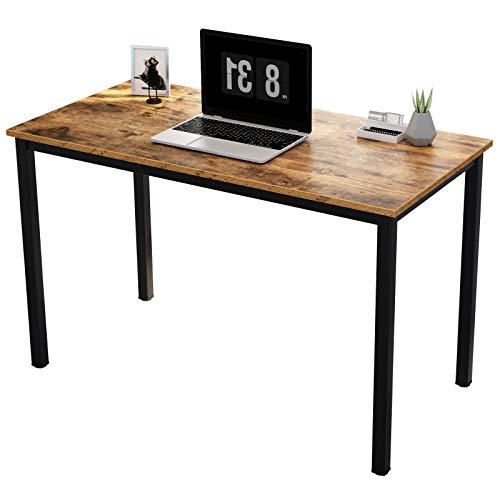 SogesPower Computer Desk Office-Schreibtisch Desk Computer-PC-Laptop-Tisch, Workstation Study Desk Konferenztisch für Home Office, SP-YL-AC3-100