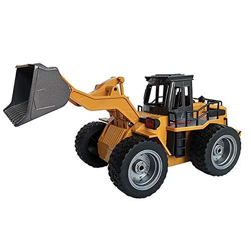 1:18 Afstandsbediening Tractor Schop Speelgoed Afstandsbediening Heftruck Techniek Voertuig Kinderen Jongen Speelgoed Cadeau Bulldozer Tractor Schop Model