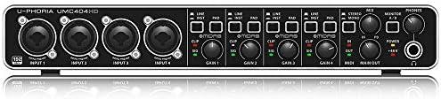 Top 10 Best behringer xenyx q802usb 8 input 2 bus mixer usb audio interface w  compressor