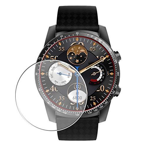 Vaxson 3 Stück Schutzfolie, kompatibel mit Smartwatch smart watch KW99, Displayschutzfolie Bildschirmschutz Blasenfreies TPU Folie [nicht Panzerglas]