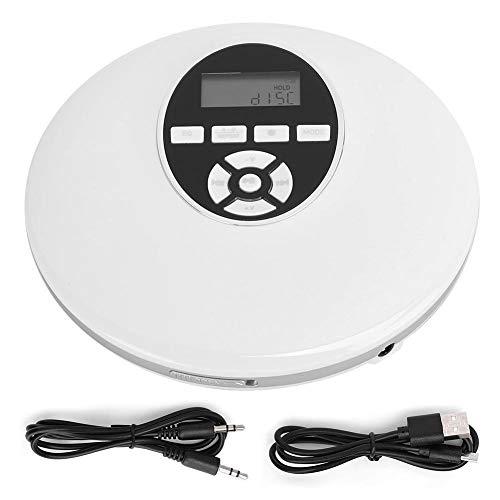BYARSS Tragbare Durable CD-Player abspielen Ausstattung Gerät Zubehör Unterstützung Einsetzen der Speicherkarte (Bluetooth-Typ)