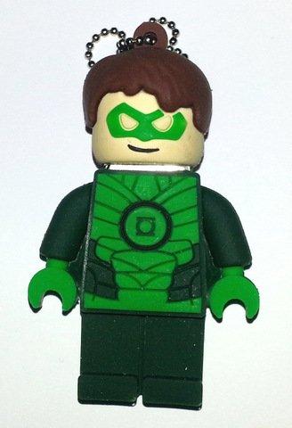 USB 16gb Goma Super héroe Anillo de Poder Linterna Verde Green Lantern