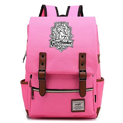 MMZ Bolsa de lona para escolares, mochilas con letrero de Gryffindor, regalos de Harry Potter para niños y niñas adolescentes 38x27x12.5cm (#8)