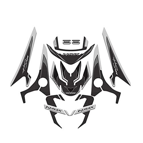 Almohadilla del Tanque Motocicleta 3D Gel Frontal Trasero Carenado Tanque De Combustible...