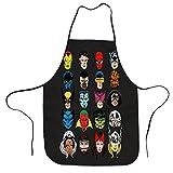 X-men Fantastic Four Comic supereroe Heads Grembiule regolabile – Lavabile Unisex Cucina Grembiuli per Chef