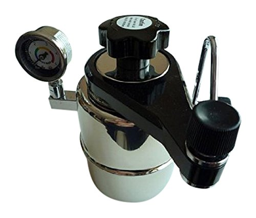 Taylor & Ng 30025 Bellman CX-25P Stovetop espresso Maker with Pressure Gauge