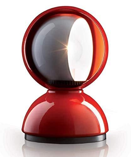 Artemide Eclisse Tischlampe, Ø12 H 18cm, rot