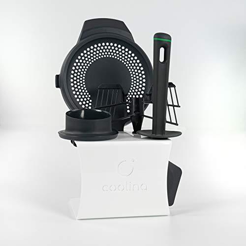 coolina Premium Zubehörhalter passend für Original-Zubehör von Thermomix (passend für Thermomix TM6)