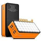 Fmooostore 50000mAh Power Bank, Portable Phone Battery...