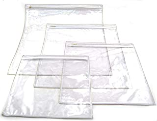 Fitted Zippered Plastic Protector for X Large Tallit Bag Approximately Size 16