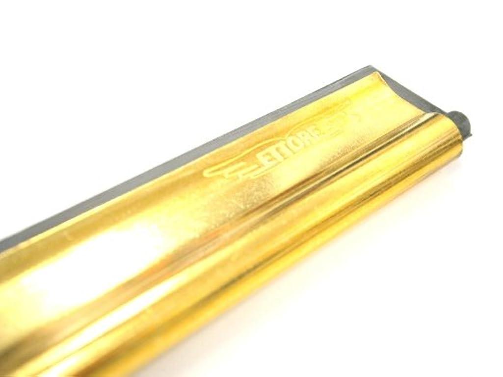 カポックコメント社説エトレのガラス掃除プロ用ツール 【真鍮チャンネル ゴム?クリップ付 10