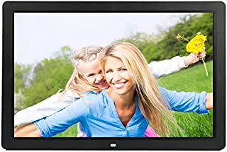JIANGNIAU Frame 17 inch HD 1080P LED Display Multi-Media Digital Photo Frame with Holder & Music & Movie Player, Support U...