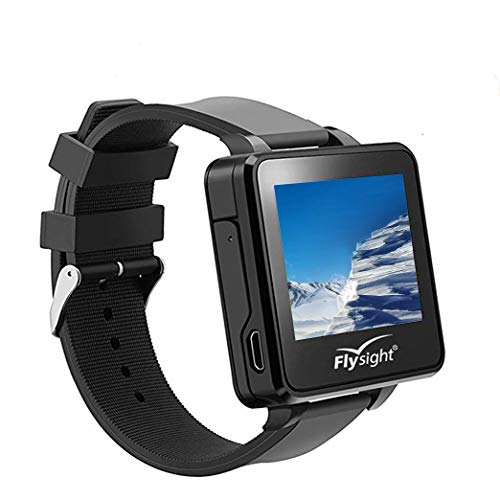 Flysight 5.8Ghz FPV RC Video Drone Watch 48CH 2 Inch Wireless Receiver FPV Mini Drone Monitor Watch 960 x 240 HD Wearable Display Screen Watch for DIY RC Camera Helicopter Quadcopter Drone Airplane