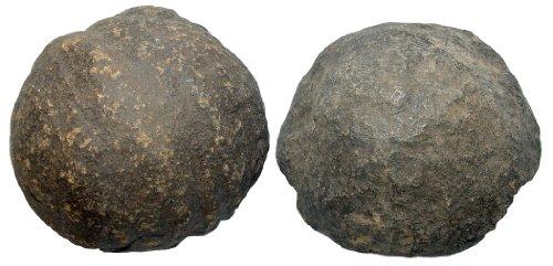 1 Paar Moqui Marbles lebende Steine ca. 16-20 mm aus den USA.(2921)