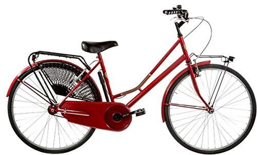 Bici Misura 26 Olanda Passeggio Olandese Art. OL26 (Rosso)