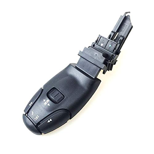 Wishful Nuevo Radio CD Audio Audio Control Remoto Interruptor de Tallo 6242Z6 96637240xt Fit para Peugeot 206 307 308 407 607 807 Citoen C5 C8 (Color : with Phone Button)