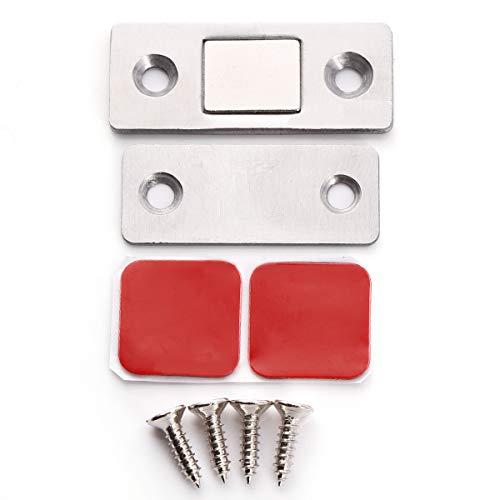 Super Stark 304 Edelstahl Magnetschnäpper Magnet Möbelmagnet Türmagnete Türverschluß Haltemagnet Magnetverschluss