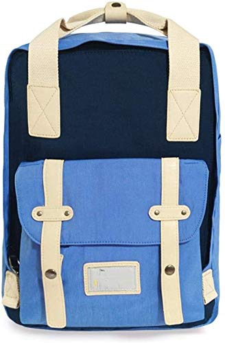 tgbnh Backpack,Hiking Backpack Hiking Daypack Backpack Unisex Camping Mountaineering Walking Sports Outdoor Waterproof Backpack (Color : Lake blue)