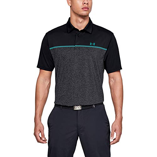 Under Armour Playoff 2.0, Polo Uomo, Nero, M