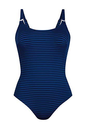 Anita Badeanzug Pepita Größe 46B, Farbe Nachtblau