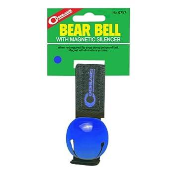 Coghlan Ours de Bell avec magnétique pour véhicule, Mixte, Bleu