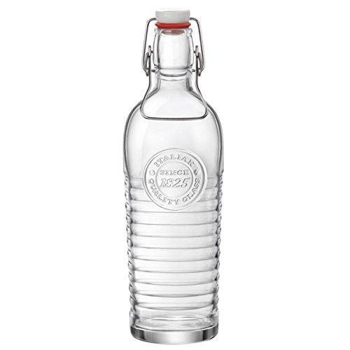 Officina 18251,2L botella de agua–Juego de 6–Vintage italiano cuadro botella de agua