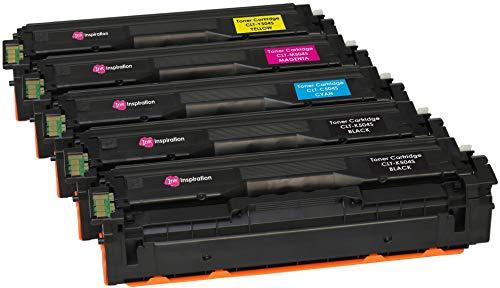 5er Set Premium Toner kompatibel für Samsung Xpress SL-C1810W SL-C1860FW CLX-4195FN CLX-4195FW CLP-415N CLP-415NW CLT-504S | Schwarz 2.500 Seiten & Color je 1.800 Seiten