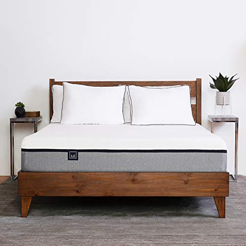 Lull - Memory Foam Mattress | 3 Layers of Premium Memory Foam, Therapeutic Support, Breathable...