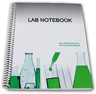 Lab Notebook 100 Carbonless Pages Spiral Bound (Top Page Perforated) by Barbakam [2010]