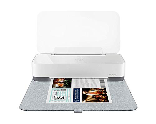 HP Tango X Smart Wireless Printer with Indigo Linen cover – Mobile Remote Print, Scan, Copy,...