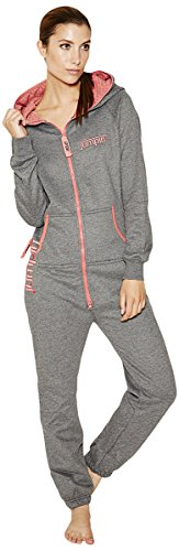 Jumpin Erwachsene Jumpsuit Original, Dark Grey, S, 10000