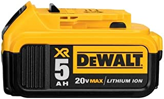 Dewalt 5 Amp 20v Battery