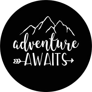 Adventure Awaits Tire Cover (35
