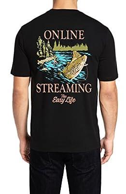 The Easy Life Mens Funny T Shirts - Choose Print: Baseball, Golf, Beer, Backyard Cooking, Fishing, and Sailing